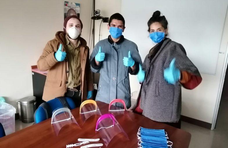Entrega al Hospital Regional Temuco